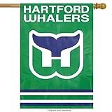 Party Animal Sports Team Logo Hartford Whalers Applique Banner Flag