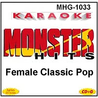 Monster Hits Karaoke #1033 - Female Classic Pop
