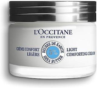 L'Occitane Light 5% Shea Butter Face Cream for Normal to Combination Skin, 1.7 oz.