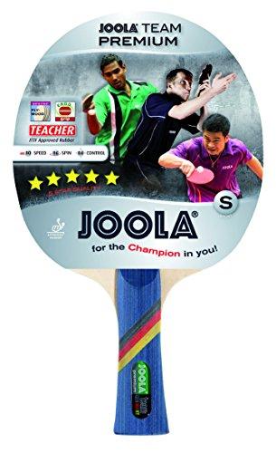 JOOLA Team Premium Paletka do Tenisa Stołowego, Wielokolorowy, Gąbka 2 mm, 52002