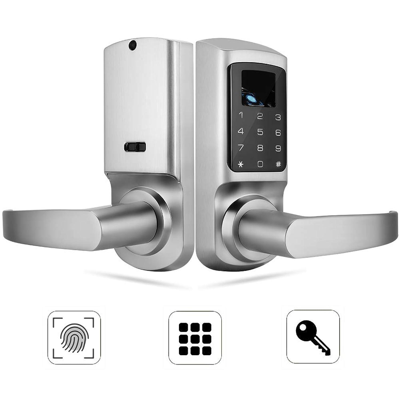 指紋ドアロック 指紋パスワードドアロック バックロック ドアアクセス管理システム 盗難防止 ドア周り防犯用品