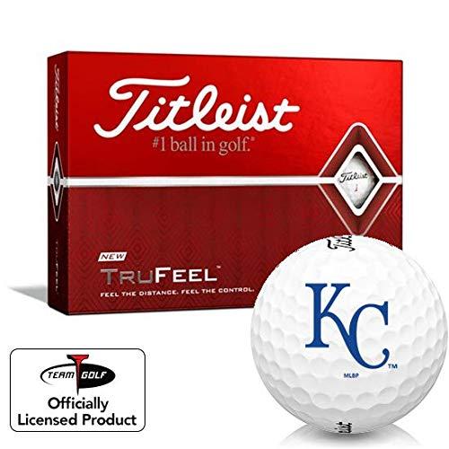 For Sale! Titleist TruFeel Kansas City Royals Golf Balls
