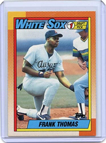 1990 topps #414 FRANK THOMAS chicago white sox ROOKIE card - Mint Condition...