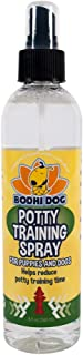 Bodhi Dog Potty Training Spray | Indoor Outdoor Potty Here Training Aid for Dogs & Puppies or Natural Enzymatic Carpet & Stain Remover