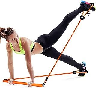Yoga Pilates Bar Fitness Training Bar Home Small Sports Equipment Portable Elastic Band QDDSP