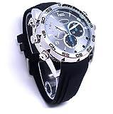 Reloj de la cámara espía impermeable Noche función de la visión HD 1080P 16G