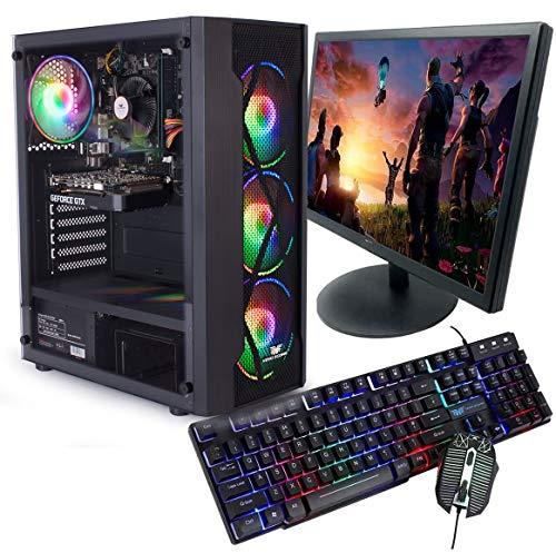 Veno Scorp GAMING PC BUNDLE Intel Core i7 2600 16GB Ram 256GB SSD + 1TB HDD GTX 1650 4GB Windows 10 Gaming PC USB 3.0
