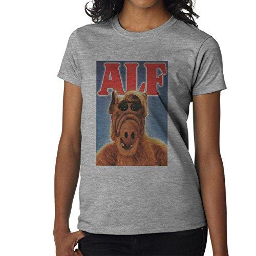 Alf Movie Film Poster Small Damen T-Shirt