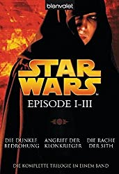 Star Wars Bücher Episode I bis III
