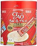 チャオ (CIAO) 猫用おやつ ちゅ~る グルメ バラエティ 14g×60本入