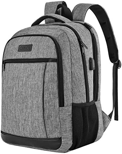 QINOL Travel Laptop Backpack Anti Theft Work Bookbags With Usb Charging Port Water Resistant product image