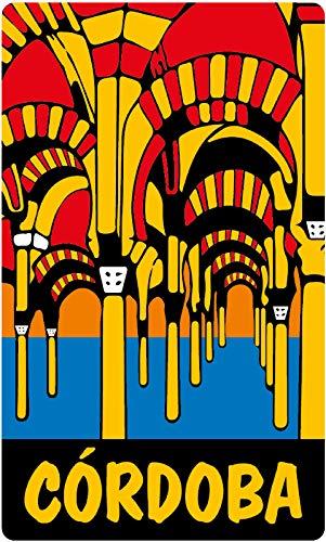 Aufkleber Wappen Moschee Córdoba