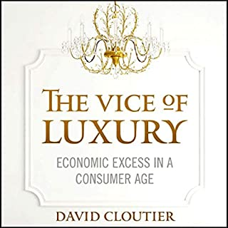 The Vice of Luxury audiobook cover art