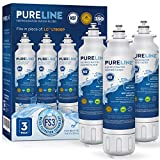 PureLine ADQ73613401 and LT800P Water Filter Replacement for LG...