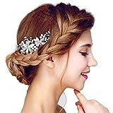 Hair Comb Hair Band Accesorios para el cabello Pinzas para el cabello Vintage Nupcial Ladies Crystal Rhinestone Bolas de boda Hair Combs Accesorios para el cabello de la flor para mujeres niñas