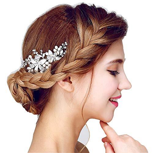 Hair Comb Hair Band Accesorios para el Cabello Pinzas para el Cabello Vintage Nupcial Ladies Crystal Rhinestone...