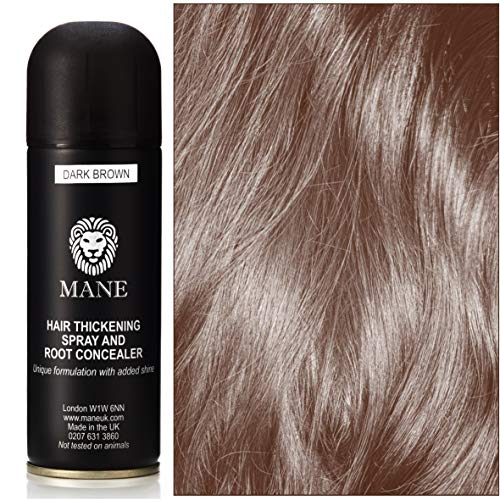 Mane Spray Thickener for fine hair - Dark Brown 200 ml