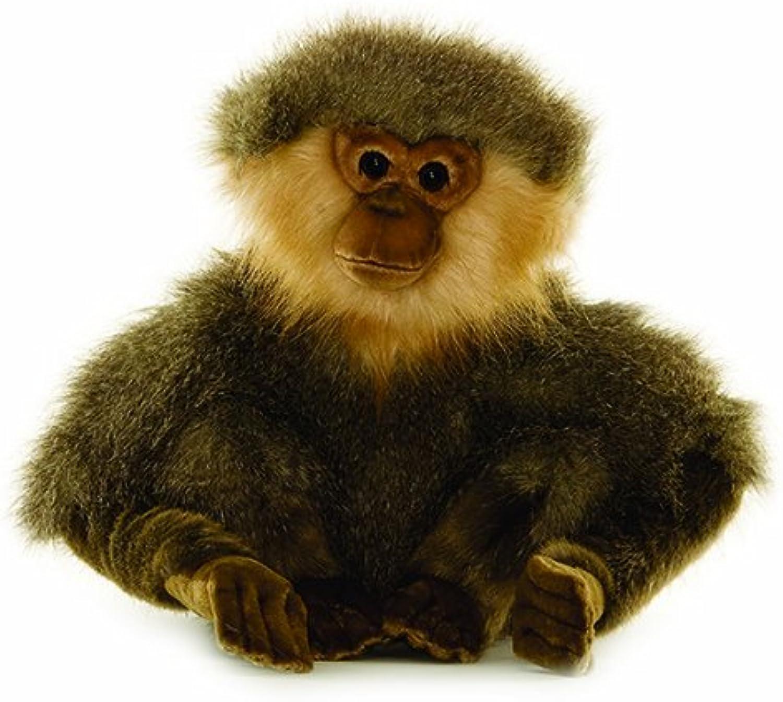 Hansa Seated Gibbon Plush, 12