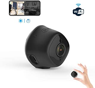 Mini Hidden WiFi Camera 1080P HD itTiot, Home Security Camera with Night Vision and Motion Detection, SD Card Slot for Nanny/Pet/Business M1