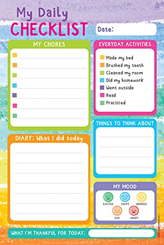 Kids' Daily Planner Note Pad (60 sheets)