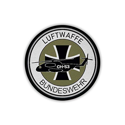 Patch/Aufnäher - Luftwaffe Bundeswehr CH53 Heer BW Bückeburg Fritzlar Fürstenfeldbruck Patch Wappen Abzeichen Heli #18173