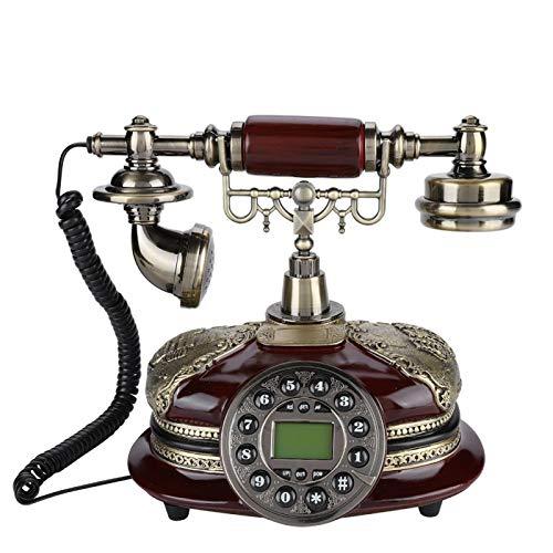 TeléFono Antiguo Retro,TeléFono Antiguo CláSico De LíNea Fija De Escritorio,TeléFono Con Cable Europeo Retro,TeléFono Fijo Antiguo De MarcacióN,TeléFono De Escritorio De DecoracióN De Oficina De Hotel