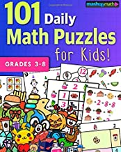 101 Daily Math Puzzles for Kids!: For Students in Grades 3-8
