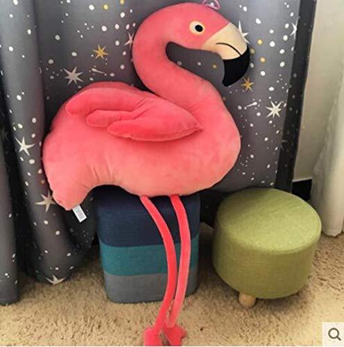 JMKHY Cute Soft Flamingo Stuffed Toys Simulation Bird Plush Toy Girl Birthday Gift Home Decoration for Baby Plush Pillow-75cm