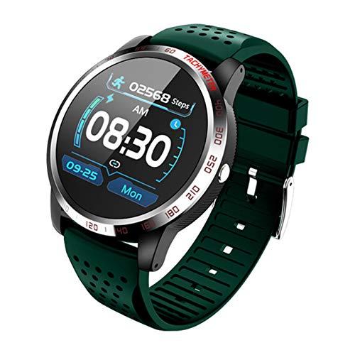 YXJ Bluetooth Call Hombres Smart Watch W3 ECG + PPG HRV Presión Arterial Monitor De Ritmo Cardíaco Sport Tracker Pulsera Impermeable Pulsera,A