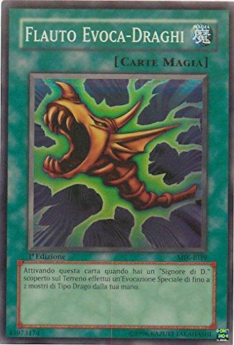 Yu-Gi-Oh! - MIK-IT039 - Flauto Evoca-Draghi - Mazzo Introduttivo Kaiba - Unlimited Edition - Super Rara