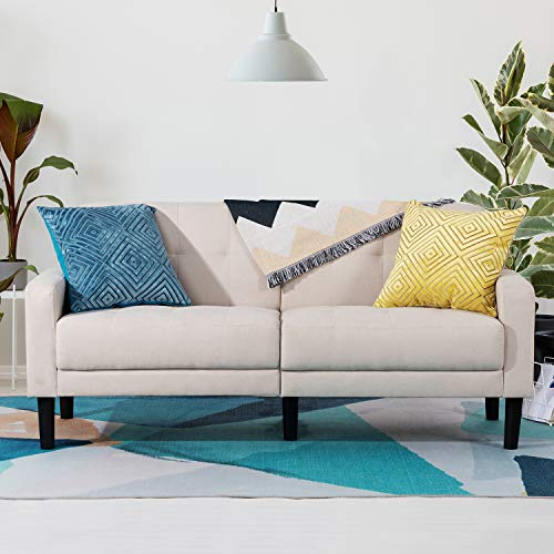 Vongrasig 63'' Small Modern Loveseat Couch