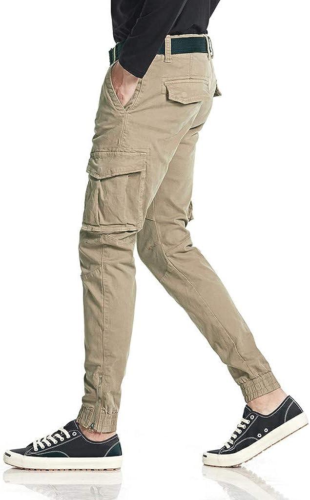 Dtuta Pantalons De Travail Pantalon Cargo Homme Femme R/éSistant /à labrasion Genouill/èRes avec Poches pour Toute La Saison /ÉPaisse Et Mince
