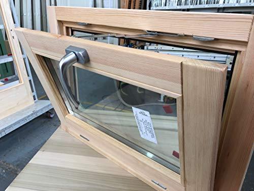 Fenster in rauen Holzfenstern 90 x 50 cm - DOPPELGLAS - GRIFF - HANDLICH - BEHANDBAR Typ: Imprägnier/Lackierung - in jeder Farbe