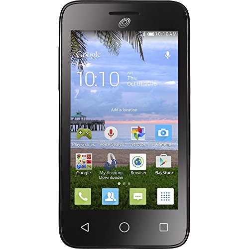 TracFone Alcatel One Touch A462C Pixi Eclipse 3G Android Prepaid Smartphone - Retail Packaging