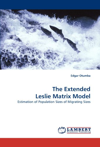The Extended Leslie Matrix Model: Estimation of Population Sizes of Migrating Sizes