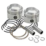 """S&amp,S Cycle S&S Cycle Forged 3-5/8"""" Bore Piston Set 106-5536"""