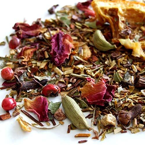 The Tea Makers of London Tee Chai of Madagaskar Honigbuschtee mit exotischen Früchten 250g Früchtetee vom Teekontor