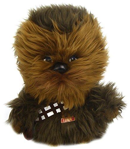 Star Wars Underground Toys Peluche de Chewbacca (22,9 cm, Sonido en ingls, Caja de Regalo)