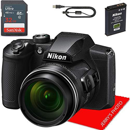 Nikon COOLPIX B600 Digital Camera (Black) + 32GB...