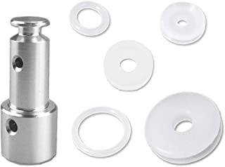 Universal Replacement Sealing Gaskets and Float Valve for 5 or 6 Quart Pressure Cooker Models, Such as XL, YBD60-100, PPC780, PPC770 and PPC790