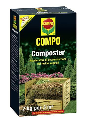 COMPO Composter, Acceleratore di decomposizione dei residui vegetali, 2 kg