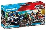 PLAYMOBIL City Action 70570 Vehículo Todoterreno de Policía: persecución del ladrón de tesoros, Para niños de 4 a 10 años