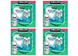 Kirkland Signature Multi-Purpose Sterile Solution for Any Soft Contact Lens, 3 Count (16 oz Bottles), Pack 4