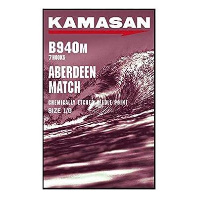 Kamasan B940M Match Aberdeen Fishing Hooks Sea Fishing - 4 to 4/0 (1/0)
