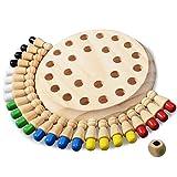 Wooden Memory Chess Game Farbe Lustiges Block-Brettspiel Eltern-Kind-Interaktionsspielzeug für...