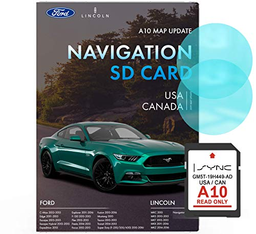 Ford Lincoln A10 Navigation SD Card | Latest Update 2019 | Ford Navigation Card for USA and Canada