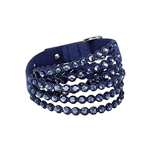 Swarovski Pulsera Power Collection, azul