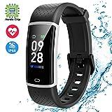 Jogfit Smartwatch Orologio Fitness Tracker Donna Uomo Cardiofrequenzimetro da Polso Impermeabile...