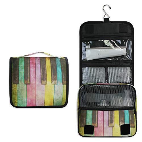 Doshine - Neceser de Madera con diseño de arcoíris para Colgar Las...