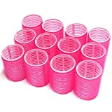 UrbHome Large Hair Rollers, Self Grip, Salon...